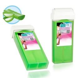Depil-OK Vaškas kasetėje Aloe Vera (100 g)