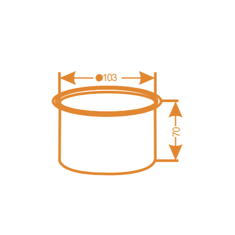 Vaško šildytuvas su temperatūros nustatymu YM-8326