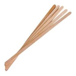 Siauros medinės mentelės depiliacijai (100 vnt.)
