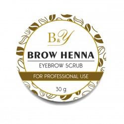 B&Y Brow Scrub 30 g