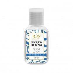 B&Y Brow Henna fiksacinis losjonas 30 ml