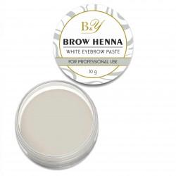 B&Y Brow Henna balta pasta 10 g