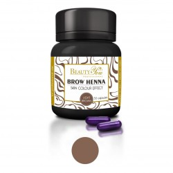 B&Y professional Brow Henna 30 nanocapsules deep black