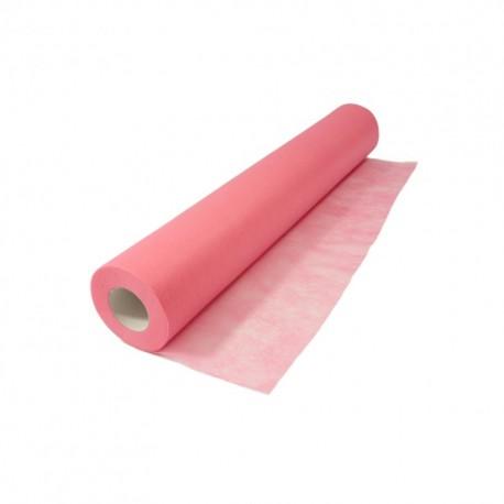 Vienkartinė paklodė užtiesalas rulone EKO Higiena rožinė perforuota 60cm x 60m