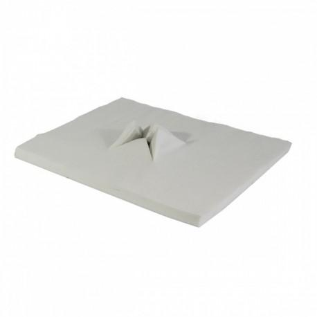 Paklotas masažo stalo pagalvėlei iš neaustinės medžiagos Y formos (100vnt)