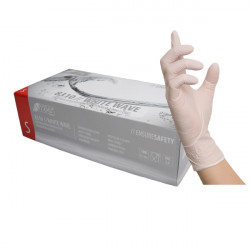 Nitrile gloves free powder white (100pcs.)
