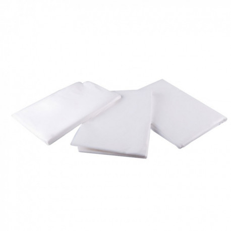 Hairdressing cape - PE - White (50pcs)