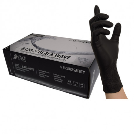 Doman nitrile gloves powder free pink (100pcs.)
