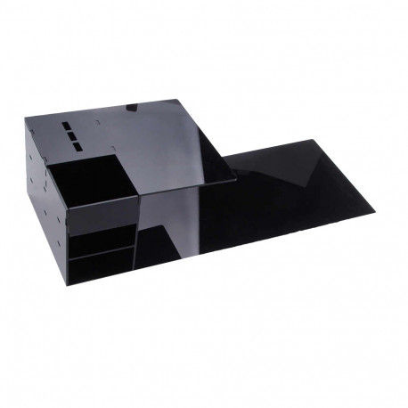 Eyelash extension shelf pillow black color