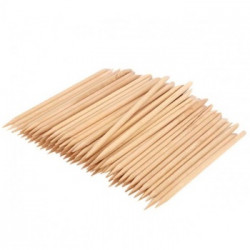 Wooden stick for manicure and pedicure 178mm  (100pcs.)