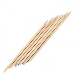 Деревянная палочка для маникюра и педикюра 178мм (100шт.)