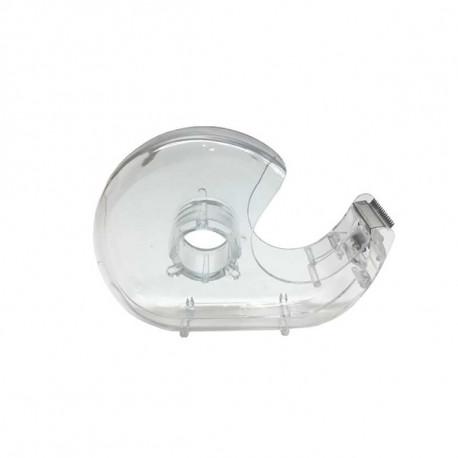 Small tape dispenser, transparent