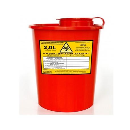 Konteineris medicininėms atliekoms surinkti, daugkartinis