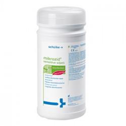 Servetėlės greitai paviršių dez. Mikrozido Sensitive Wipes su dėžute N200