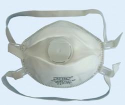 Respirator with valve FFP3