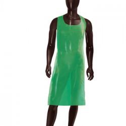 Disposable Apron Polythene 100pcs green colour