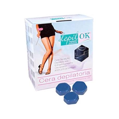 Depil-OK traditional wax Azul 1kg
