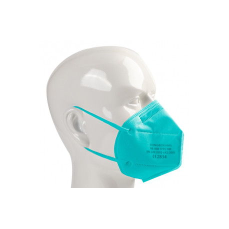 Rongbo respiratorius, FFP2 - šviesiai mėlynas