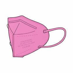 Rongbo респиратор, FFP2 - розовый