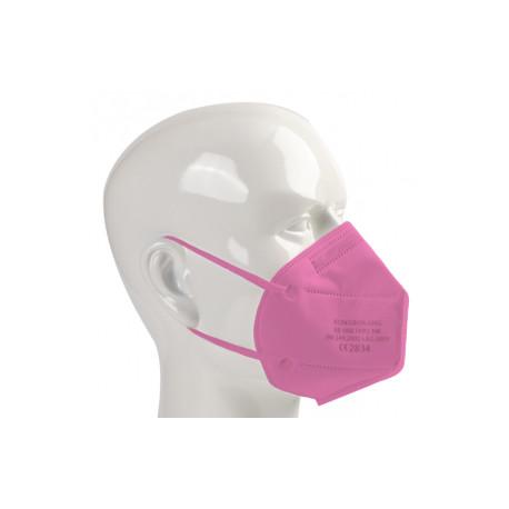 Rongbo respirator, FFP2 - pink