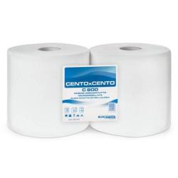 Cento x Cento C800 towel rolls (2 rolls)