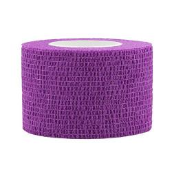 Elastic Self-adhesive Tape 2,5x450 cm, purple