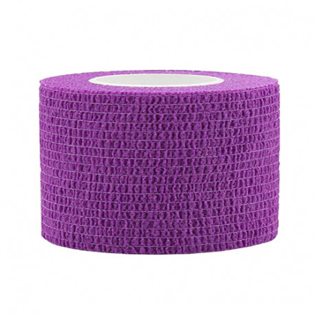 Lipni elastinė juosta 2,5x450 cm, violetinė