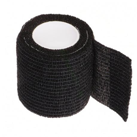 Lipni elastinė juosta 5x450 cm, juoda