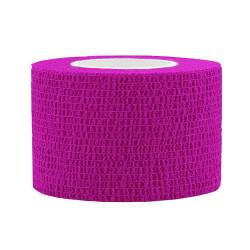 Elastic Self-adhesive Tape 2,5x450 cm, pink
