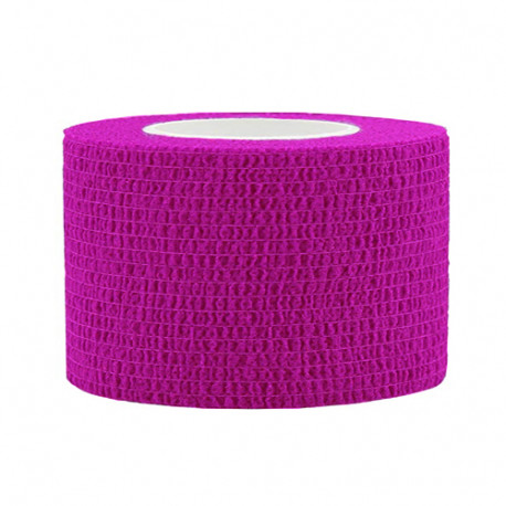Lipni elastinė juosta 2,5x450 cm, rožinė