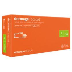Mercator Dermagel Powder-free Latex Gloves S (100 pcs.)