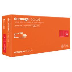 Mercator Dermagel Powder-free Latex Gloves L (100 pcs.)