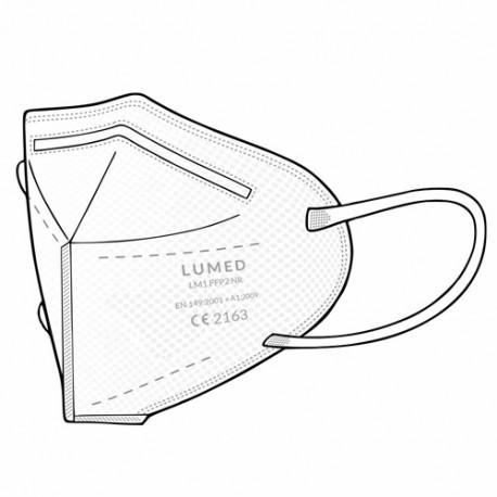 Lumed Respirator FFP2, White
