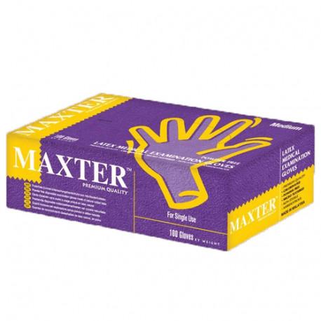 Maxter Powder Free Latex Gloves M (100 pcs.)