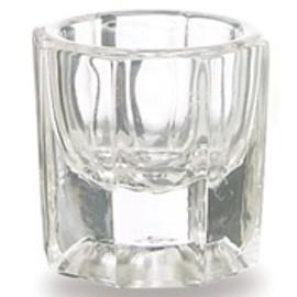 Stiklinis indelis dažams maišyti