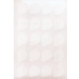 Lipnus maži lapeliai blakstienų klijams (20 lapelių)