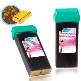 Depil-OK Vaškas kasetėje šokolado-aukso  (100 g)