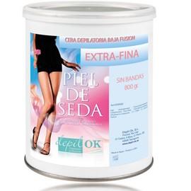 Depil-OK Rožinis vaškas su švelniu citruso kvapu bikinio depiliacijai (800g)