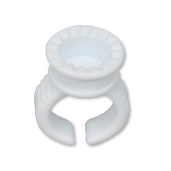 3D smart ring with O-disk for eyelash glue