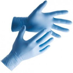 Nitrile gloves powder-free (100pcs)