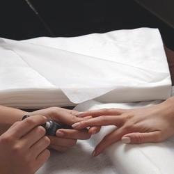 Non woven spun lace towels for manicure (30x40cm)