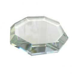 Crystal Octagon Glue Stone Palette