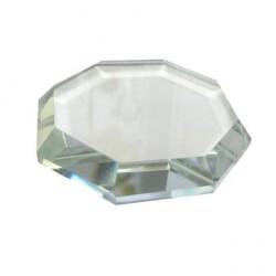 Kristalinis Octagon klijų padėkliukas