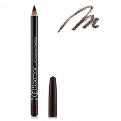 Flormar waterproof pen for eyeliner №106 (Dark chestnut)