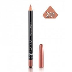 Flormar pieštukas  atsparus vandeniui №201(Šviesiai ruda)