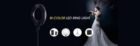 Innovative Design RING Lighting for Beauty Masters!