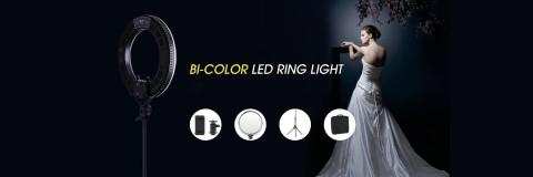 Inovatyvaus dizaino RING šviestumas grožio meistrams!