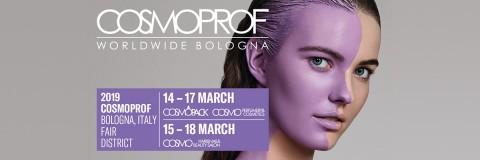 Meet us at Cosmoprof 2019, Bologna!